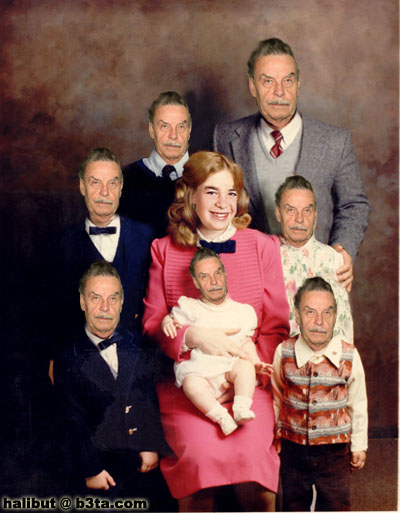 real inbred families
